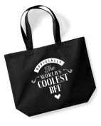 BFF Birthday Gift or Christmas Gift Bag, Tote, Shopping Bag, Birthday Gift, Present, Gifts For Women, Worlds Coolest BFF