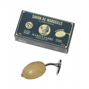 Marius Fabre Wall-Mount Rotating Holder with Olive Oil Marseilles Soap 290g 300ml