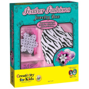Creativity for Kids - Feather Fashions Jewellery Box