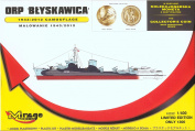 ORP 'Blyskawica' ..1943/2012 Camouflage (1
