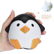 Squeeze Toys, SHOBDW Cute Penguins Squishy Slow Rising Cream Scented Decompression Toys