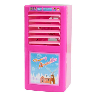 Xshuai Lovely Pink Mini Simulated Kitchen Appliances Toys for Baby Kids Educational Development Pretend Play Home Appliances Kitchen Toy Gift (Air Conditioning)