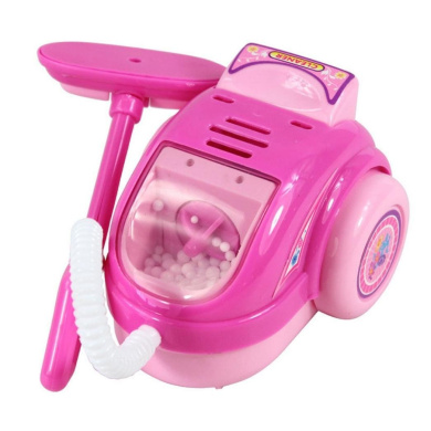 Xshuai Lovely Pink Mini Simulated Kitchen Appliances Toys for Baby Kids Educational Development Pretend Play Home Appliances Kitchen Toy Gift (Vacuum Cleaner)