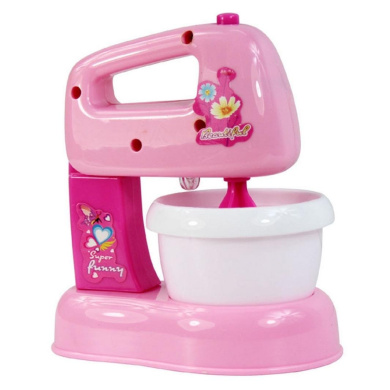Xshuai Lovely Pink Mini Simulated Kitchen Appliances Toys for Baby Kids Educational Development Pretend Play Home Appliances Kitchen Toy Gift (Mixer)