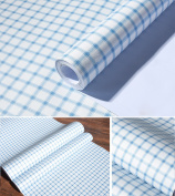 Self Adhesive Red Gingham Vinyl Contact Paper Decorative Drawer Shelf Liner for Cabinets Drawer Shelves Dresser