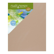 Pastel Premier Sanded Pastel Paper Eco Panel, Medium Grit, 28cm x 36cm , Italian Clay, 1 Package of 2 Panels