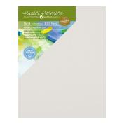 Pastel Premier Sanded Pastel Paper Eco Panel, Medium Grit, 28cm x 36cm , White, 1 Package of 2 Panels