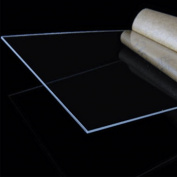 Merssavo Clear Acrylic Perspex Sheet Cut To Size Plastic Plexiglass Panel DIY 1.5mm Hot
