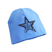 Unisex Baby Stars Beanie Hat Jaminy Winter Warm Knitted Chunky CC Cap For Kids