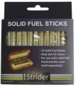 12 Pack Replacement Charcoal Sticks for Strider Pocket Warmer