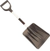 Schreuders Sport Unisex Dismountable Snow Shovel, Polypropylene, Black/Aluminium, One Size