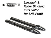 Skibinding Roller Ski Binding with Fixator for SNS Profil
