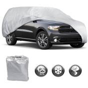 Motor Trend All Season WeatherWear 1-Poly Layer Snowproof, Water-Resistant SUV Van Cover