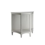 PL Home Trapezoid Display Shelf, White