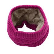 Women Knitted Collar Scarf Jaminy Shawls Wrap Neckerchief Blanket Scarf