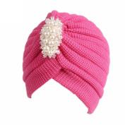 Women Knitting Cancer Hat Beanie Jaminy Turban Head Wrap Cap Pile Cap