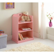 New Girlish Design Reliable and Strong 3 Shelves Amelia Bookcase bedroom use - By Emeia