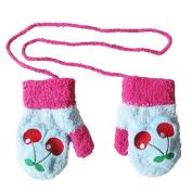 KEERADS Warm Gloves Kids Baby Boys Girls Toddler Knitted Mittens Gloves