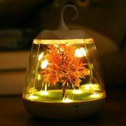 Voice Control Night Light Sound Sensitive Dimmable LampChristmas Decorative For Kids Children Boys Girls USB Charging Shape Tree