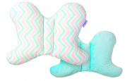 Baby Pillow * * & * * for healthy sleep 4-IP61 * * Double Sided * * Breathable Pillow for Babies, ergonomic Baby Pillow Pillow * * Made in UK * * PAD
