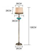 FUFU Floor Lamp Cloth lampshade modern floor lamp living room bedroom Creative Stylish simplicity bedside floor lamp Bulb Included