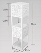 FUFU Floor Lamp Vertical PVC Shelf floor lamp bedroom bedside living room Simple modern Creative floor lamp Bulb Included