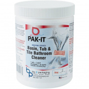 PAK-IT Ocean Scent Basin, Tub & Tile Bathroom Cleaner, 120ml, 20 count