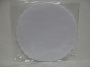 50-Piece Set of Tulle Fairy Covers; Wedding Favours; Pack of 50; 24 cm Diameter white