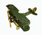 Zakka retro creative aircraft model home decorations ornaments metal crafts gifts , green