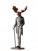 Nordic Retro Creative Gentleman Elk Office Crafts Home Resin Crafts , a