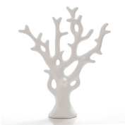 Modern fashion simple home decoration ceramic crafts Decoration Lucky fortune tree , white