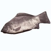 Personality creative funny simulation crucian carp pen bag salted fish stationery bag