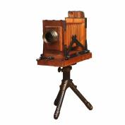 Retro Creative Wooden Tripod Camera Decoration Crafts Bar Decorative Home Furnishings