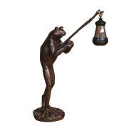 American Village Creative handicrafts home furnishings frogs resin animal ornaments living room frog lights