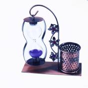 ZAKKA grocery creative hourglass iron pen holder home furnishings office ornaments fashion metal crafts