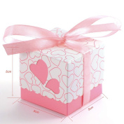 50 Pcs Love the hollow candy box and Creative candy box Get married sugar box Wedding supplies Gift Boxes