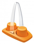 Mongardi Plastic Cup Holder Orange
