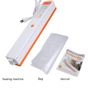 ZZM Automatic Food Vacuum Seal Machine +15 Sealed Bags