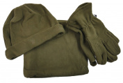 GMK Hart of 10 Clothing Hat Snood Scarf Gloves Combi Gamekeeper Green 5000