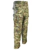 Combat ACU Trousers BTP Camo Cargo Style Pants