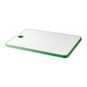 MATLUST - Chopping board, green/white
