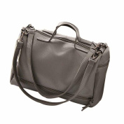 Quistal Women's Handbags Ladies Tote Large Capacity Shopping Bags Soft Leather Top-Handle Bags Fashion Shoulder Bags