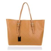 FIRENZE ARTEGIANI Women's Tote Bag Grey Camel 36*17,5*28,5