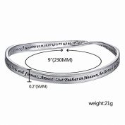 Xinmaoyuan Wedding Jewellery Hot Creative Irregular Engraved Bracelet Jewellery In Europe And America The English Simple Bracelets Wedding Gift Birthday Present Holiday Gifts