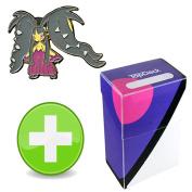 Pokemon Mega Mawile Pin with Master Ball TopDeck Deck Box