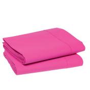 Blanc des Vosges Duvet Cover 220 x 240 cm, Cotton, Pink