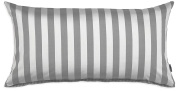 Marc O'Polo 730001–102DE - 023 Kissenebzug Classic Stripe, 100% cotton, Satin, 40 x 80 CM Grey