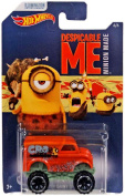 Hot Wheels Despicable Me Minion Made Monster Dairy Delivery Diecast Vehicle