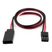 305mm 3 Terminal Remote Control M/F RC Servo Extension Cable for RC Aeroplane