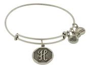 Alex and Ani Initial H Charm Bangle Bracelet - A13EB14HS